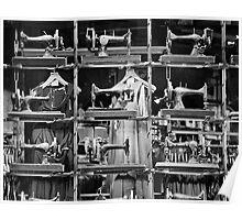 Singer sewing Machines Poster