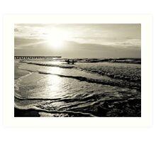 Morning Surf - Isle of Palms Art Print