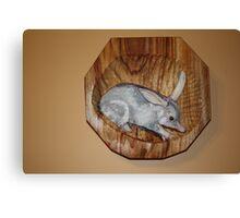 The Australian  Bilby, on the endangered list. Canvas Print