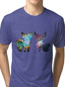 Meowstic (Male and Female) Tri-blend T-Shirt