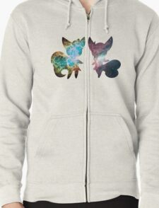 Meowstic (Male and Female) Zipped Hoodie