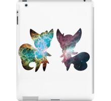 Meowstic (Male and Female) iPad Case/Skin