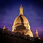 The Sacre Coeur, France by Clint Burkinshaw