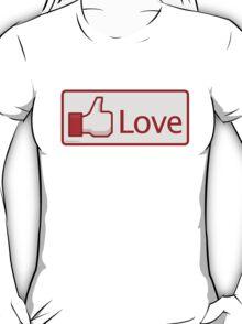 Love Button T-Shirt