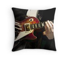 Necking the Blues Throw Pillow
