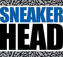 Sneakerhead - Sports Blue Cement by tee4daily