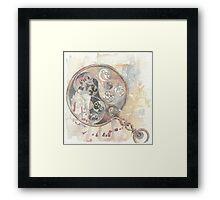 Celtic Mirror Framed Print