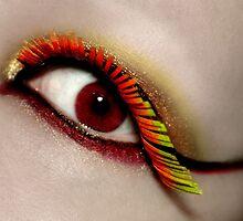 Paper Eyelashes by Marie Arneklev