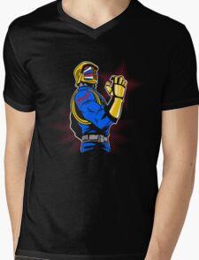 Cobra Punk Mens V-Neck T-Shirt