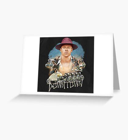 Macklemore Downtown Greeting Card