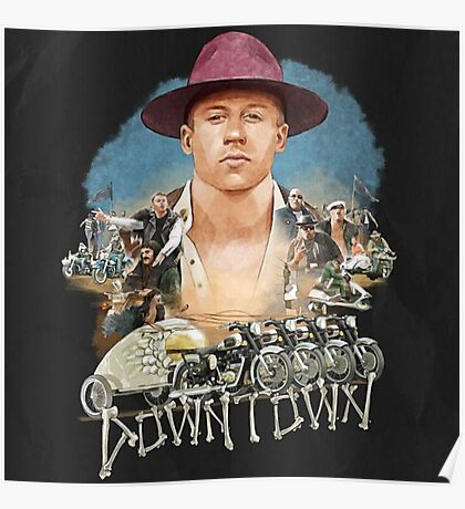 Macklemore Downtown Poster