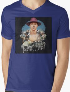 Macklemore Downtown Mens V-Neck T-Shirt