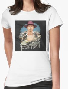 Macklemore Downtown Womens Fitted T-Shirt