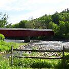 "West Cornwall Covered Bridge by Christine ""Xine"" Segalas"