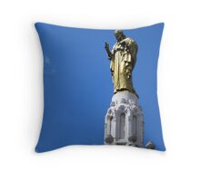 Sagrado Corazón (monument to the sacred Heart), Bilbao, Spain Throw Pillow