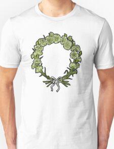 Green Carnation Garland T-Shirt