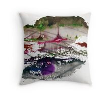 Abstract Painting Nº 08 Throw Pillow