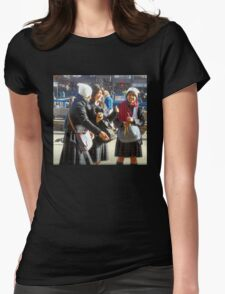 Three Teenage Girls From School Womens Fitted T-Shirt