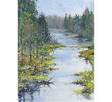 Middle River, South Shore, Nova Scotia Photographic Print