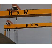 Samson & Goliath Photographic Print