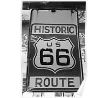 Historic Route 66 Poster