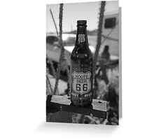 66 Route Beer Greeting Card