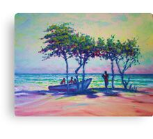 Caribean Sunset Canvas Print
