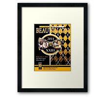 2011 Alpha Beatillion cover Framed Print
