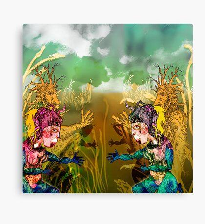 Summer fields Clan.. Canvas Print
