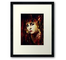 Is There Anybody Out There..? Framed Print