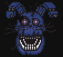 Five Nights at Freddys 4 - Nightmare Bonnie - Pixel art Kids Clothes