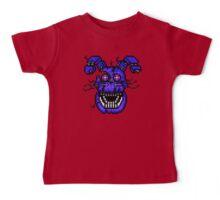 Five Nights at Freddys 4 - Nightmare Bonnie - Pixel art Baby Tee