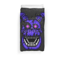 Five Nights at Freddys 4 - Nightmare Bonnie - Pixel art Duvet Cover