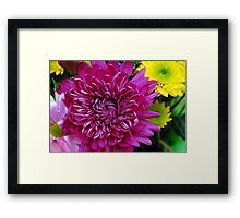A Bouquet For Mom Framed Print