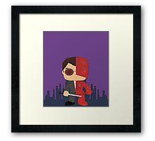 Vigilante of the Night  Framed Print