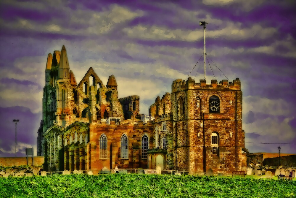 Whitby Abbey.. by ElsieBell