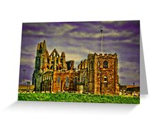 Whitby Abbey.. Greeting Card
