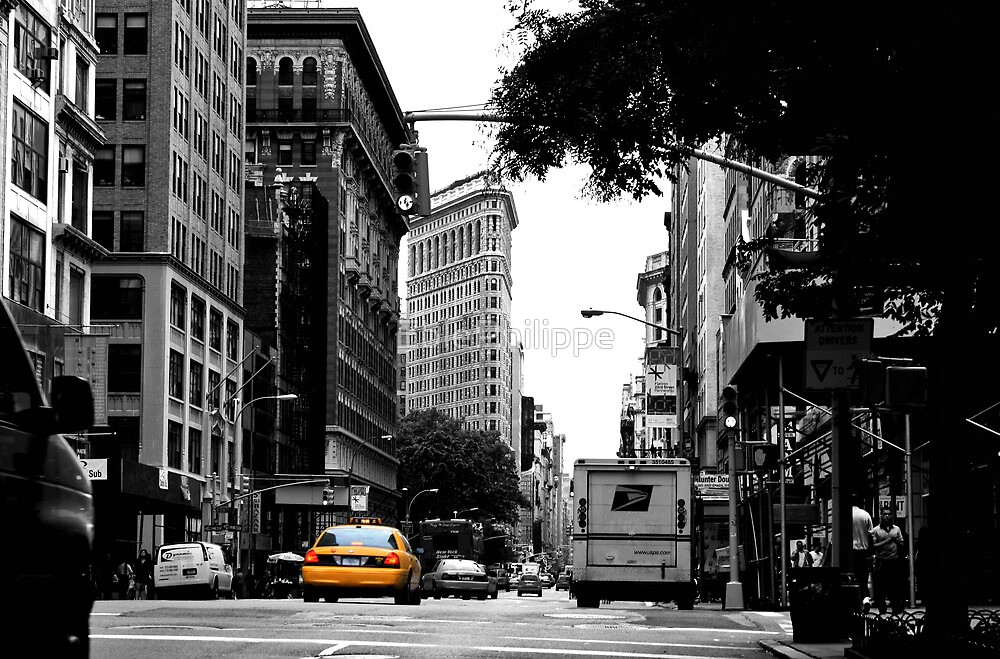 In the streets of NYC by EblePhilippe