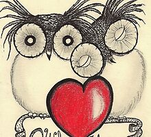 Owl Always Love you... by InkyDreamz