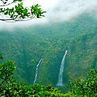 waterfall by dattagawade