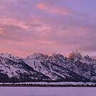 Grand Teton Evening Light by Stephen Vecchiotti