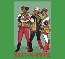 THE SHOWSTOPPERS: SALT-N-PEPA by SOL  SKETCHES™