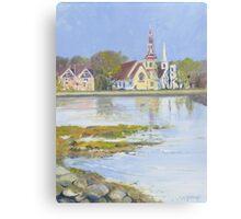 Mahone Bay, Nova Scotia Canvas Print