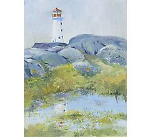 Lighthouse at Peggy's Cove, Nova Scotia Photographic Print