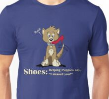 Shoes: Helping Puppies Unisex T-Shirt