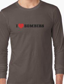 I <3 Zombies Long Sleeve T-Shirt