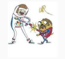 Jake and Finn shake and bake by WRTISTIK by wrtistik86