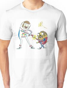 Jake and Finn shake and bake by WRTISTIK Unisex T-Shirt