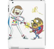 Jake and Finn shake and bake by WRTISTIK iPad Case/Skin