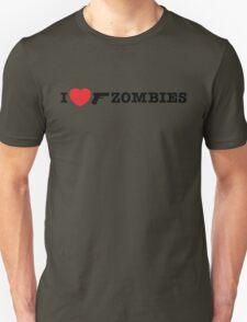 I <3 Zombies Unisex T-Shirt